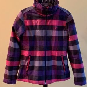 NWOT Nike Plaid Winter Snowboarding Jacket